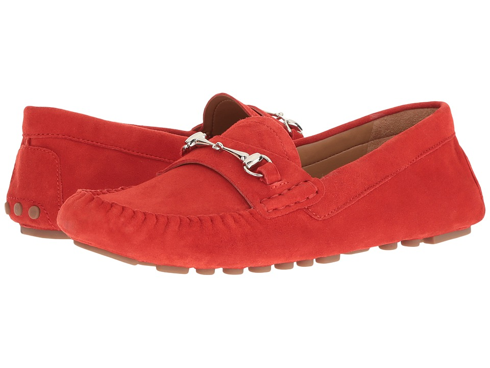 Franco Sarto Galatea (Hibiscus Red Suede) Women