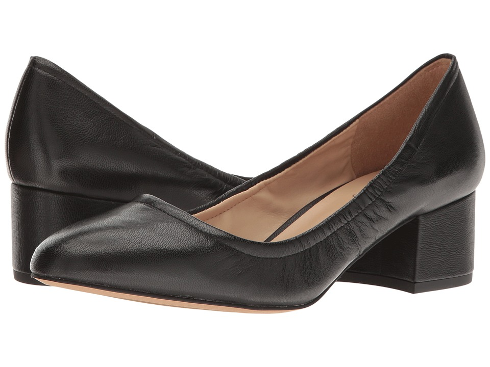 Franco Sarto Fausta (Black Leather) Women