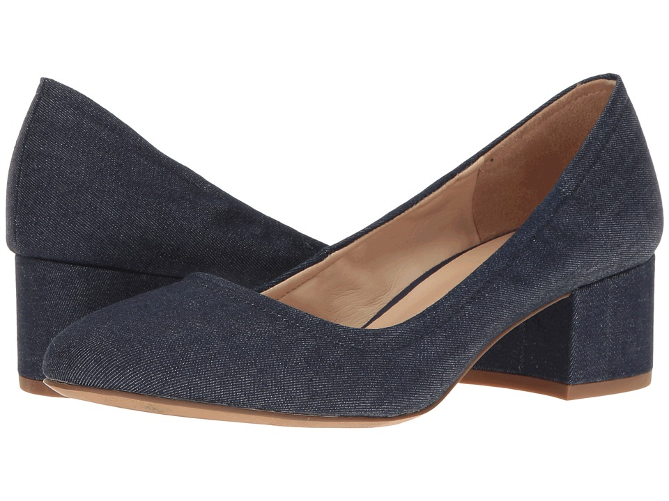 Franco Sarto Fausta (Dark Indigo Denim Fabric) Women