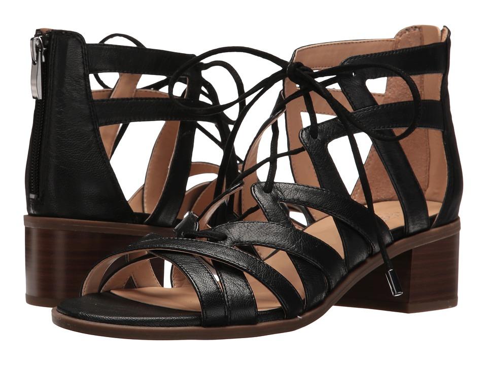 Franco Sarto Ocean (Black Leather) Women