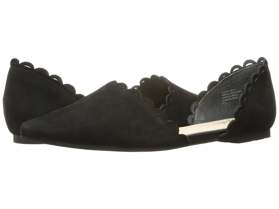 Retro Vintage Flats and Low Heel Shoes Seychelles - Research Black Womens Flat Shoes $80.99 AT vintagedancer.com