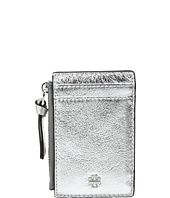 Tory Burch - Crinkle Metallic Zip Card Case