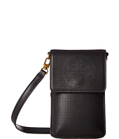 Tory Burch - Logo Perforated Phone Crossbody