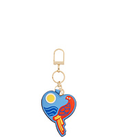 Tory Burch - Parrot Heart Key Fob