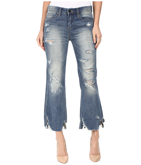 Blank NYC Distressed Novelty Denim in Train Wrecked