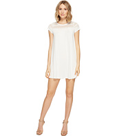 Brigitte Bailey - Lova Short Sleeve Dress with Lace Detail