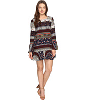 Brigitte Bailey - Naida Bell Sleeve Printed Dress