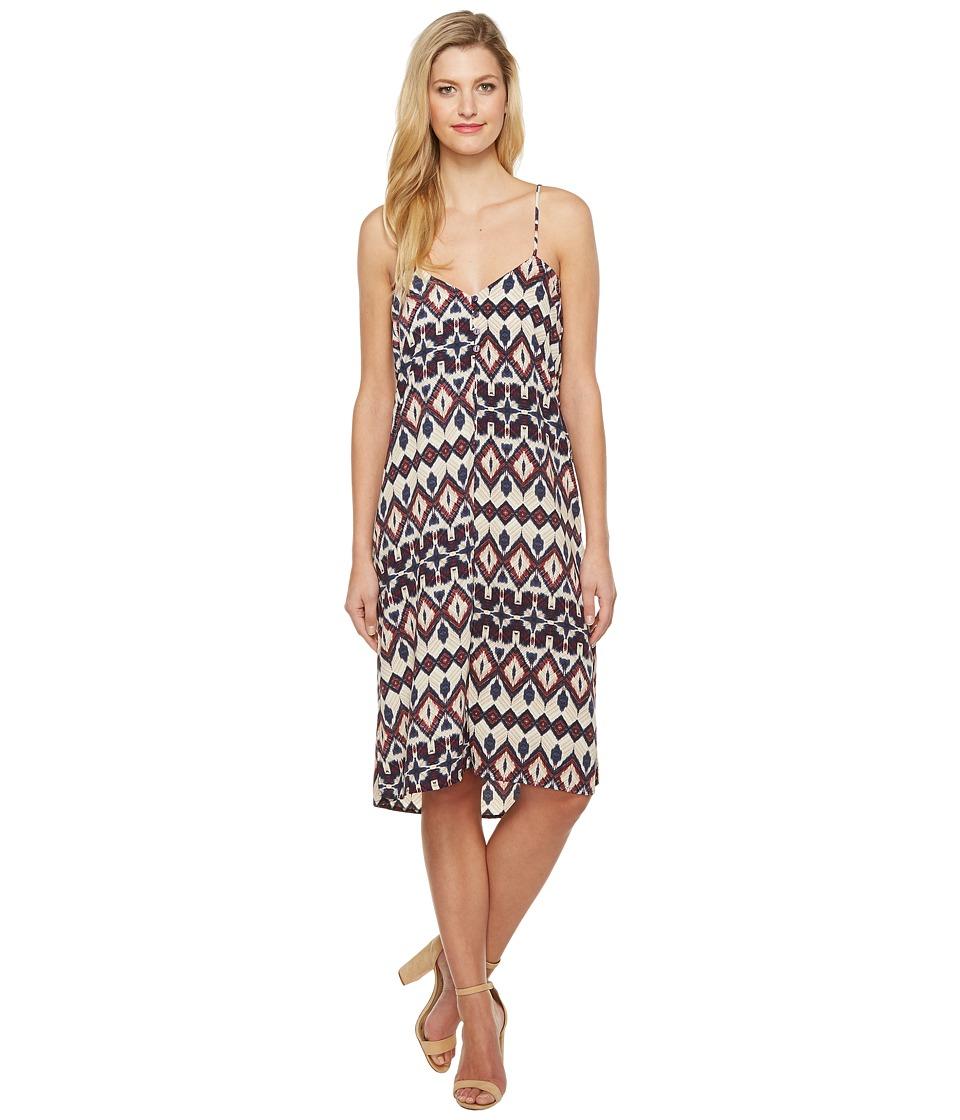 Brigitte Bailey - Lovis Spaghetti Strap Tribal Print Maxi Dress