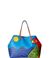 Tory Burch - Kerrington Parrot Square Tote