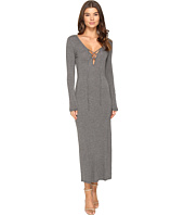 Culture Phit - Annouk Tie-Front Long Sleeve Dress