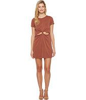 Culture Phit - Laerke Short Sleeve Dress with Front Knot