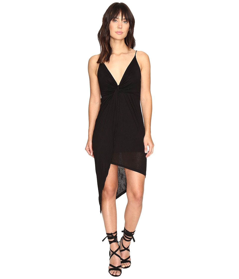 Culture Phit Augustina Spaghetti Strap Dress (Black) Women