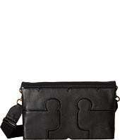 Tory Burch - Serif Leather Crossbody
