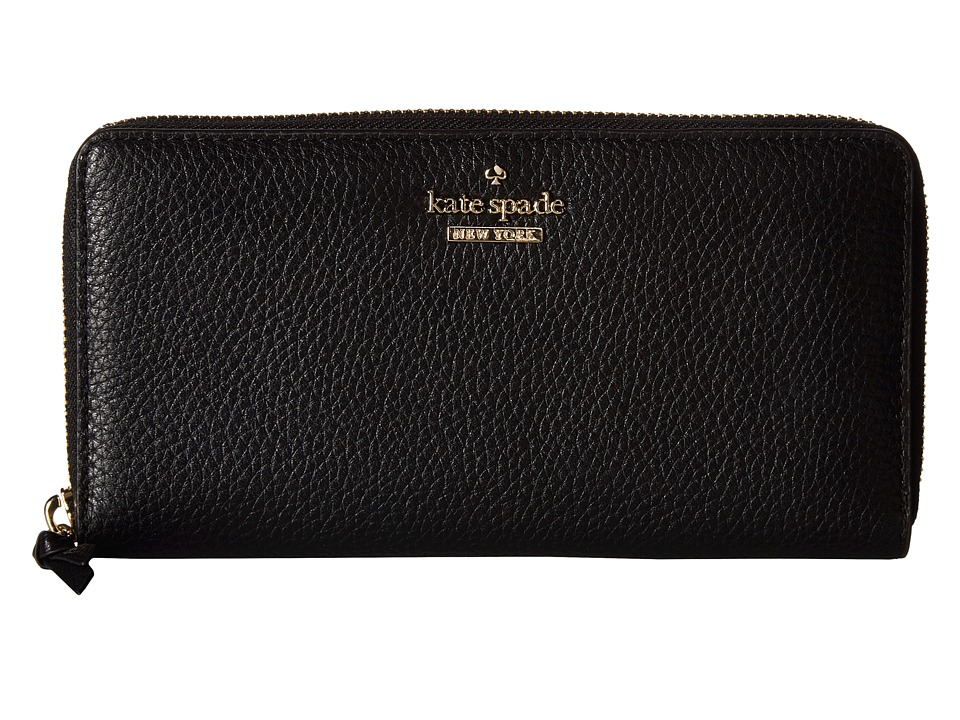 Kate Spade New York - Jackson Street Lacey (Black) Wallet