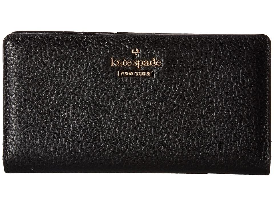 Kate Spade New York - Jackson Street Stacy (Black) Wallet