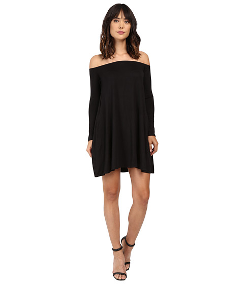 Culture Phit Taryn Long Sleeve Off the Shoulder Dress