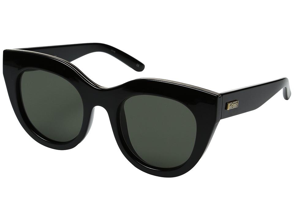 Le Specs - Air Heart (Black/Gold) Fashion Sunglasses