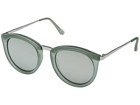 Le Specs No Smirking - Olive Rubber/Silver