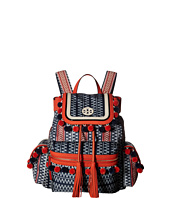 Tory Burch - Scout Nylon Pom Pom Backpack