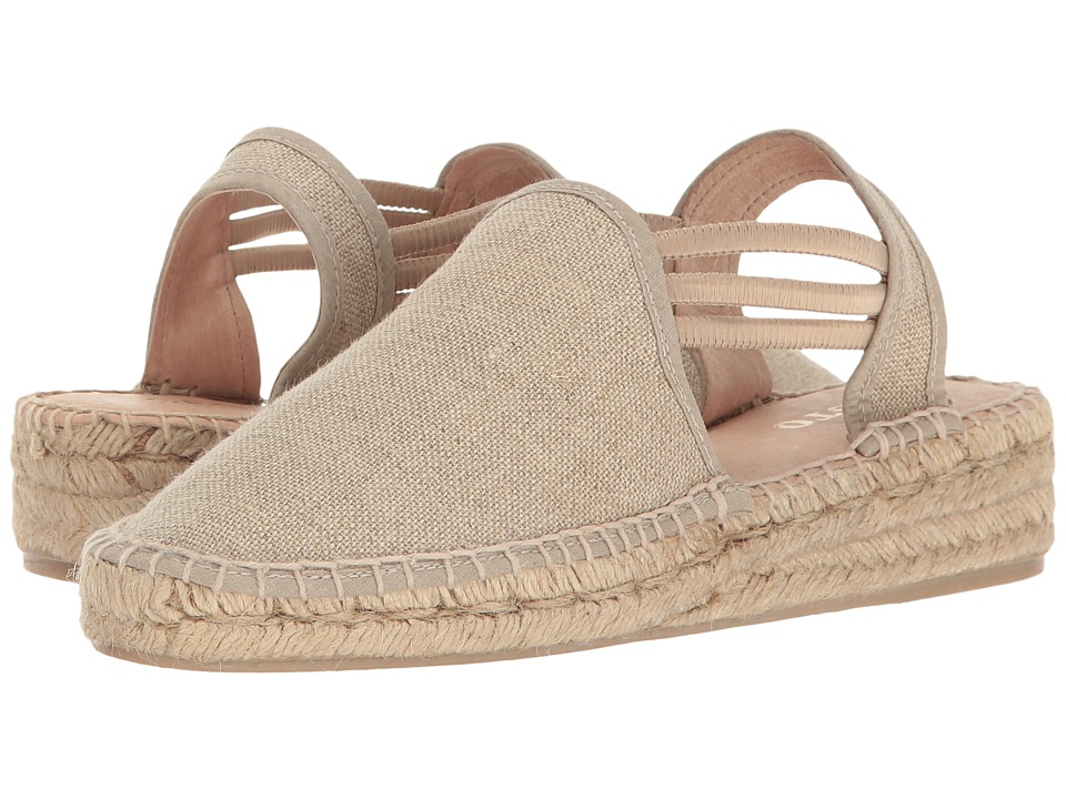 Sesto Meucci - 1635-PO (Natural Lino Fabric) Womens Shoes