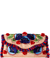 Tory Burch - Embroidered Floral Clutch