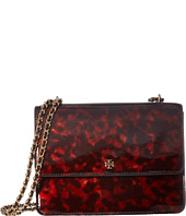 Tory Burch - Robinson Tortoise Convertible Shoulder Bag