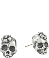 King Baby Studio - Sakura Skull Stud Earrings