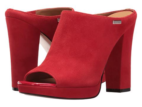 Calvin Klein Beitris - Lipstick Red Suede
