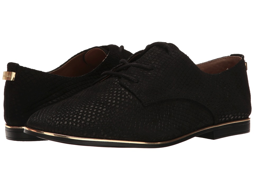 Calvin Klein Cory (Black/Warm Gold Nubuck) Women