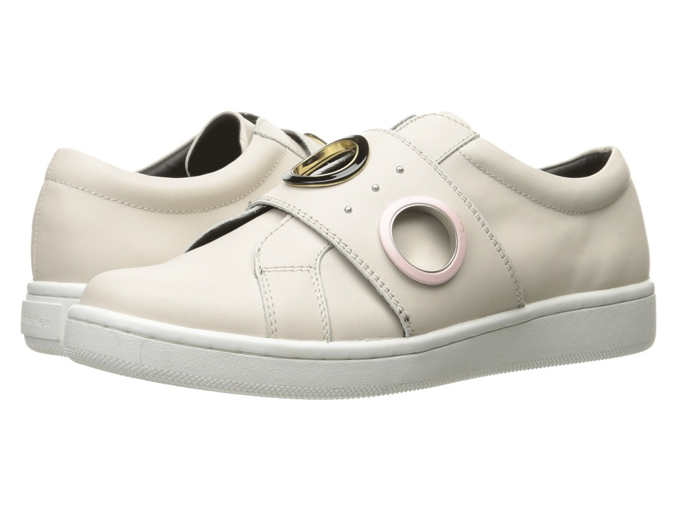 Calvin Klein - Danette (Soft White Leather) Womens Shoes