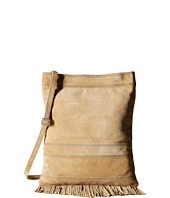TOMS - Oatmeal Soft Suede Fringe Crossbody