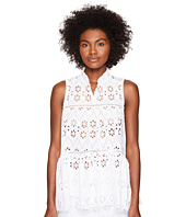 Kate Spade New York - Spice Things Up Eyelet Sleeveless Top