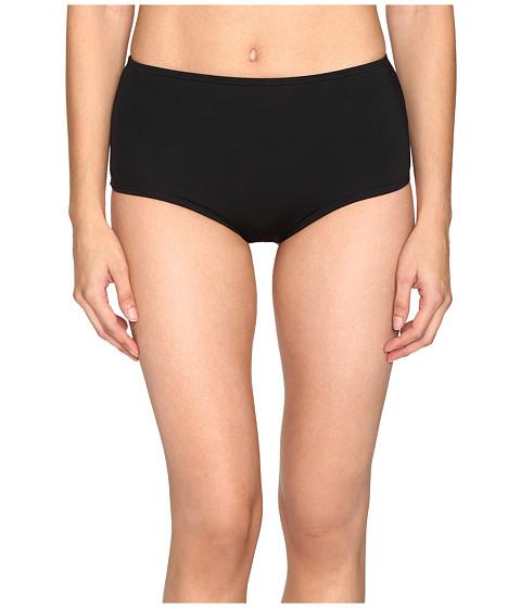 Kate Spade New York Plage Du Midi High Waist Bikini Bottom - Black