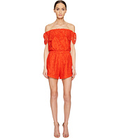 LAMARQUE - Sina Lace Off the Shoulder Romper