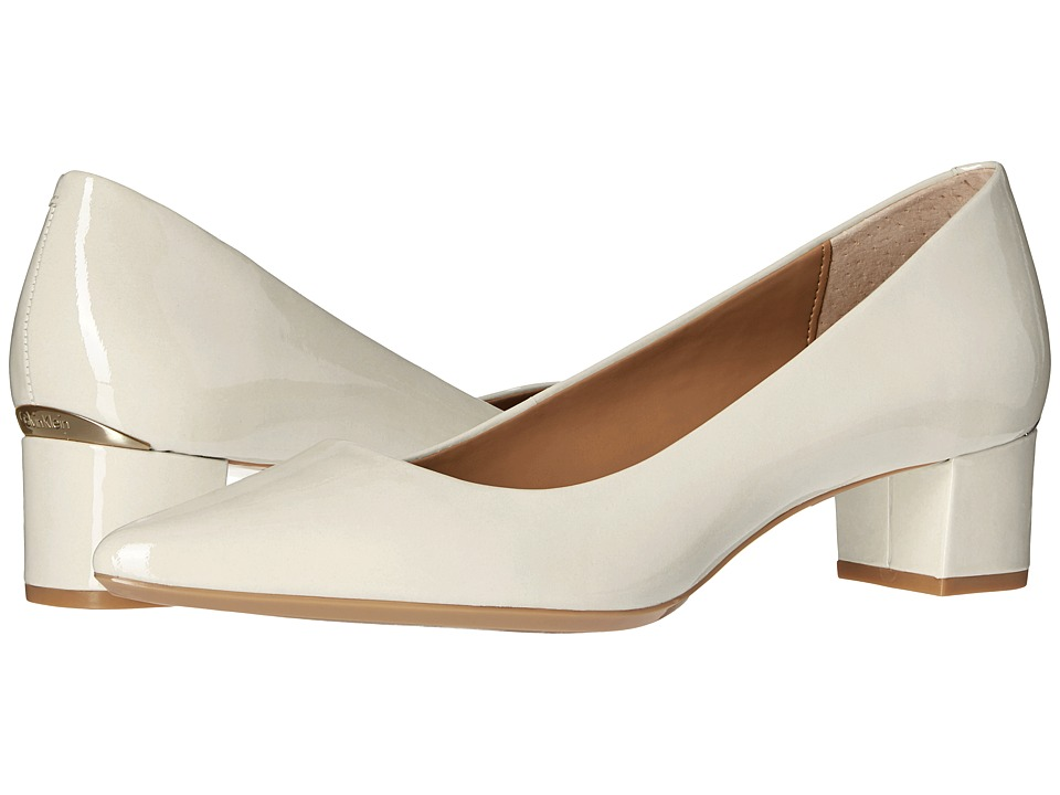 Calvin Klein Genoveva (Soft White Patent) Women