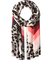 Vince Camuto - Cheetah Chevron Oblong