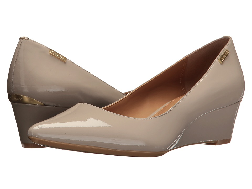 Calvin Klein Germina (Clay Patent) Women's Shoes