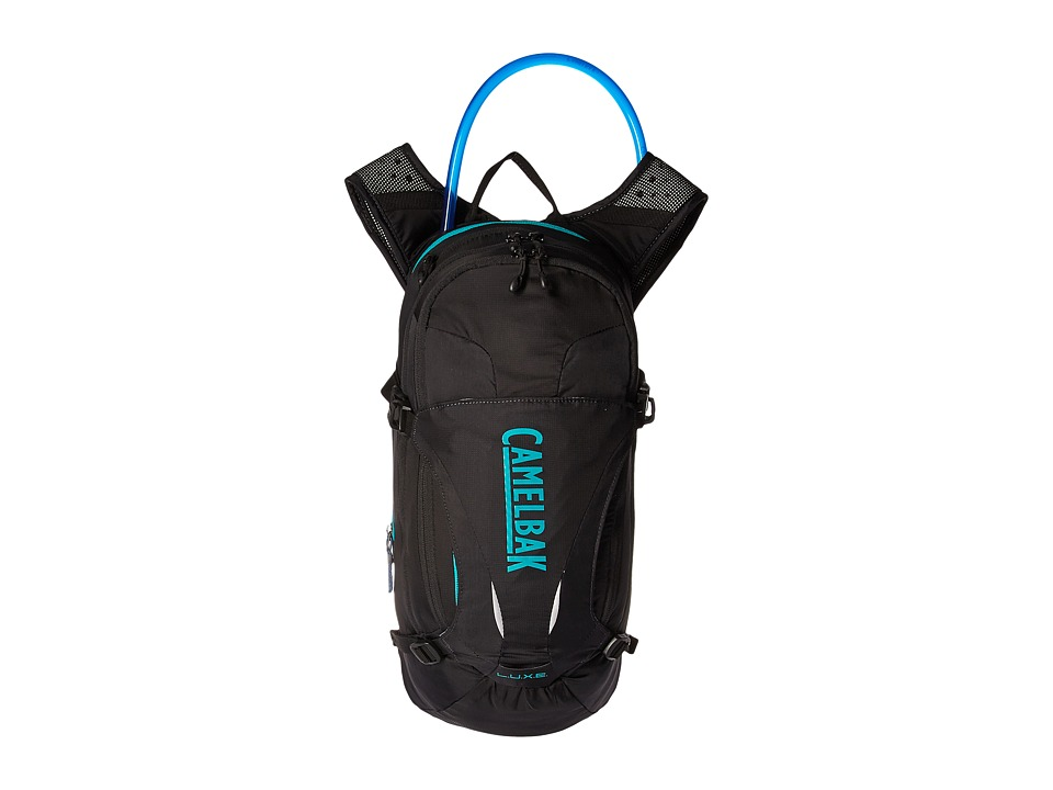 CamelBak - L.U.X.E. 100 oz. (Black/Columbia Jade) Backpack Bags