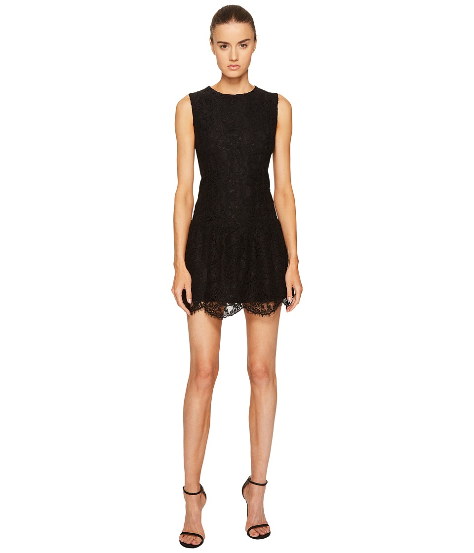 LAMARQUE - Lena Lace Mini Dress (Black) Womens Dress