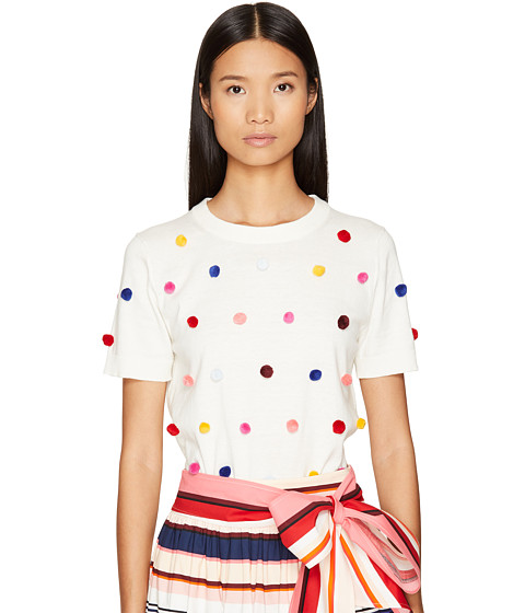 Kate Spade New York Spice Things Up Pom Sweater