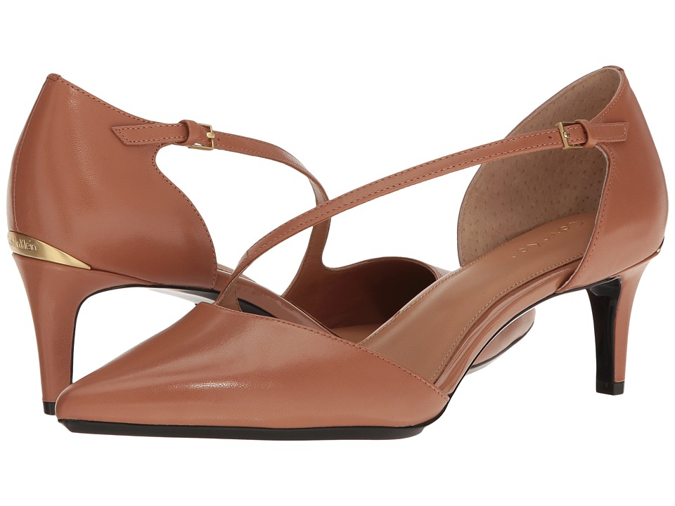 Calvin Klein Page (New Caramel Leather) Women