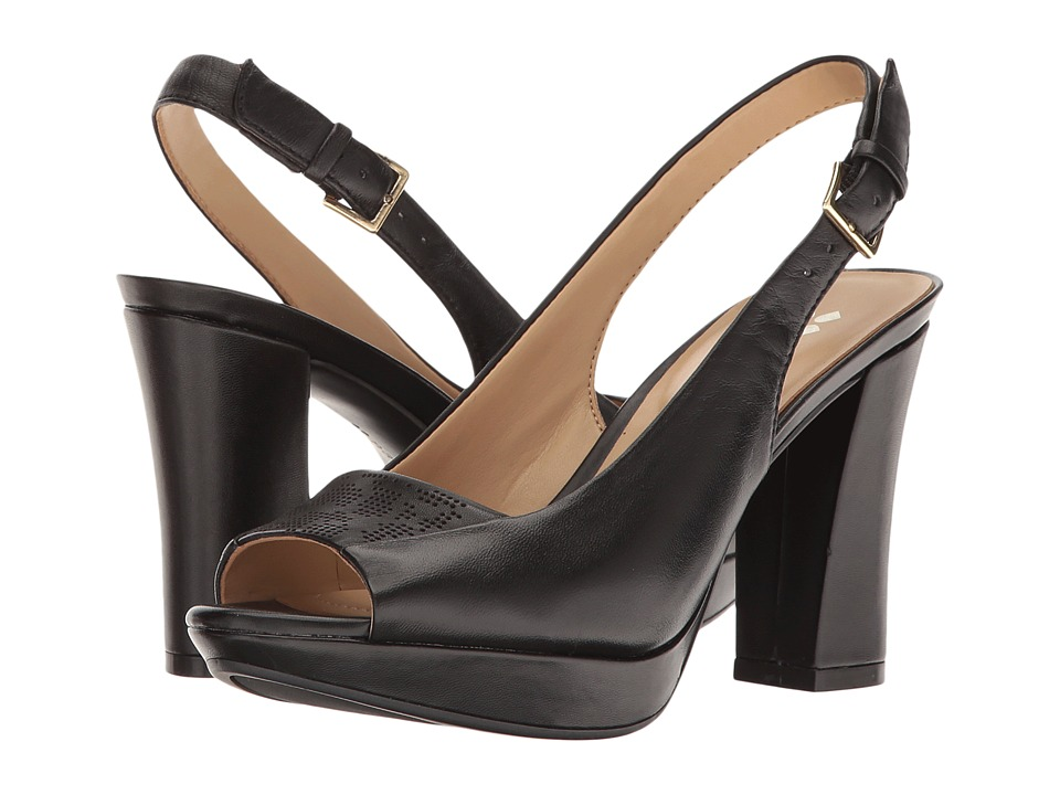 Naturalizer Allegra (Black Leather) Women