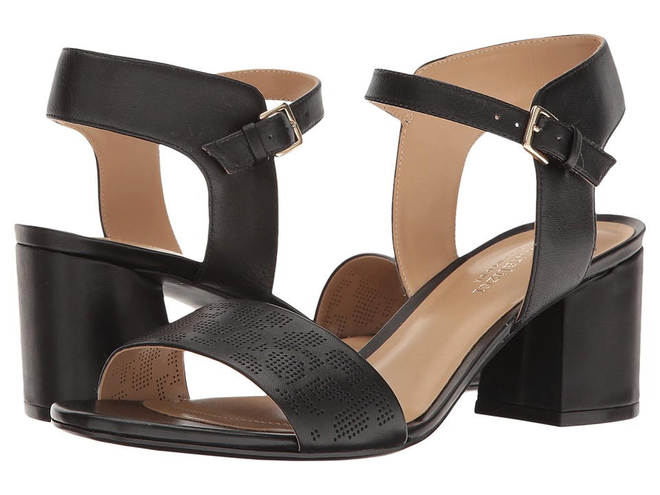 Naturalizer Caitlyn (Black Leather) Women