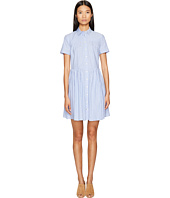 Kate Spade New York - Broome Street Stripe Poplin Swing Shirtdress