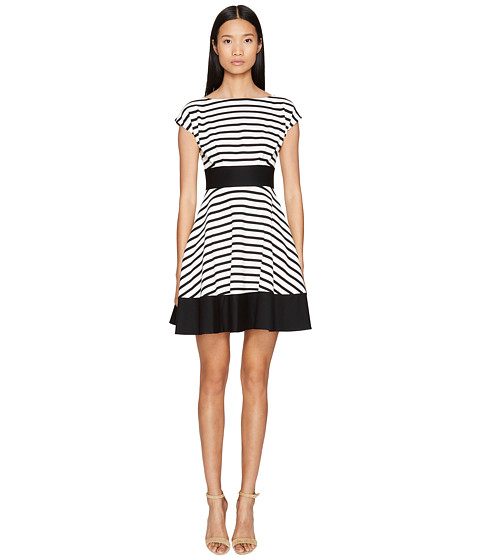 Kate Spade New York Broome Street Ponte Stripe Fiorella Dress