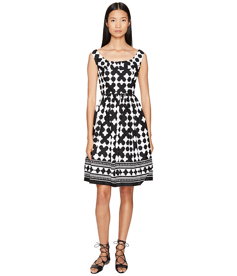 Kate Spade New York Spice Things Up Lantern Scoop Neck Dress