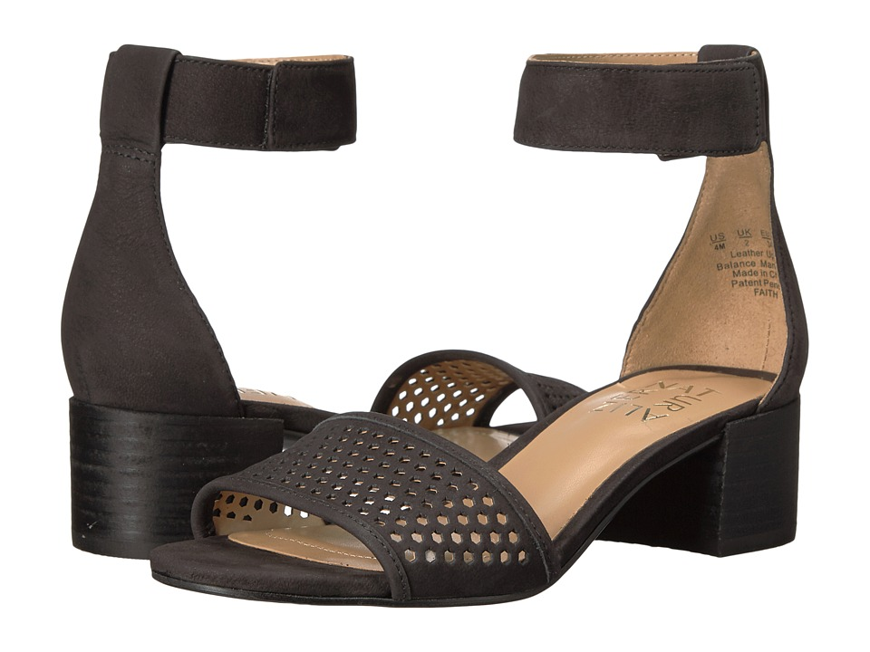 Naturalizer Faith (Black Nubuck) Women