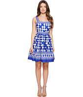 Kate Spade New York - Full Plume Lantern Poplin Flounce Dress