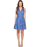 Kate Spade New York - Full Plume Tangier Floral Fit and Flare Dress