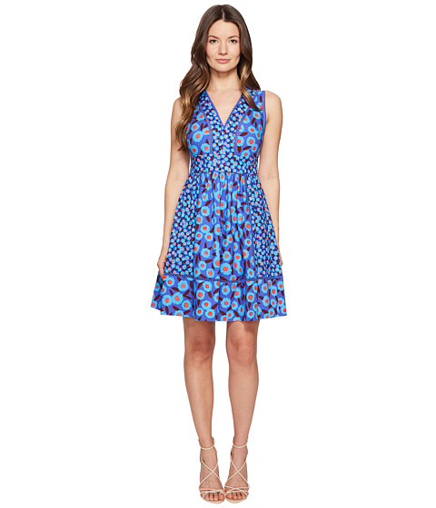 Kate Spade New York Full Plume Tangier Floral Fit and Flare Dress